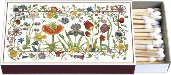 Zündholz-Schachteln 'Gartenblumen'