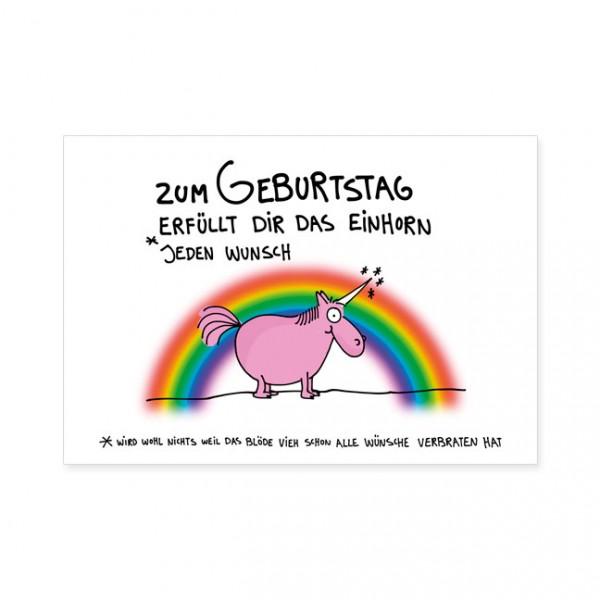 """Postkarten Large """"Wunscherfüllung"""""""