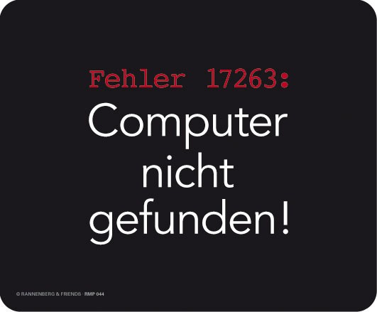 Maus-Pad 'Fehler 17263'