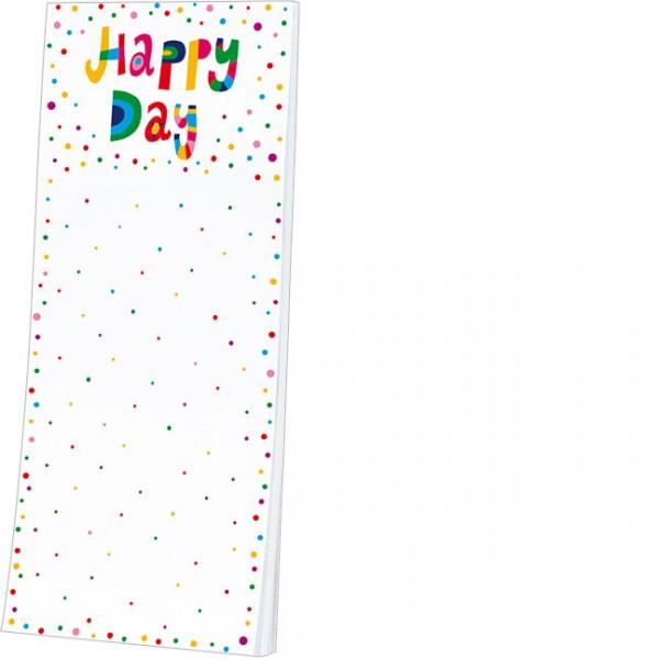 """Kühlschrankblöckchen """"Happy Day"""""""