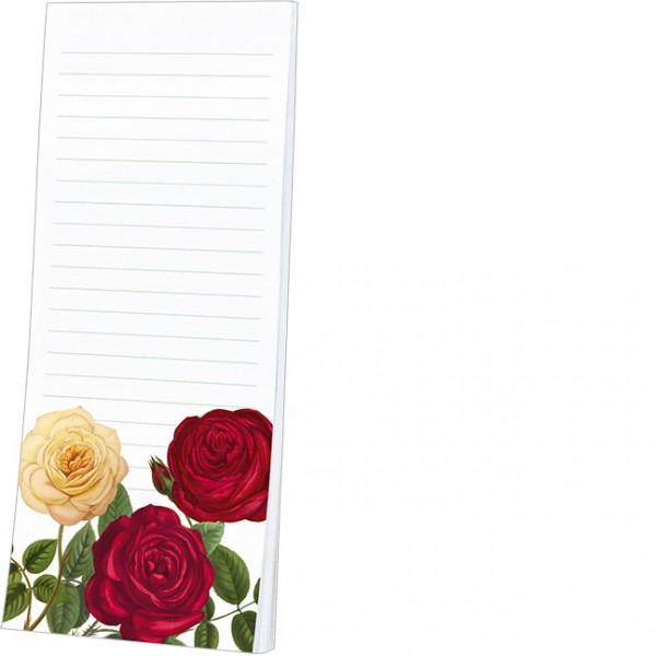 """Kühlschrankblöckchen """"Rote Rosen"""""""