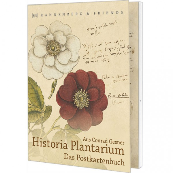 Postkartenbuch 'Aus Conrad Gesner Historia Plantarum'