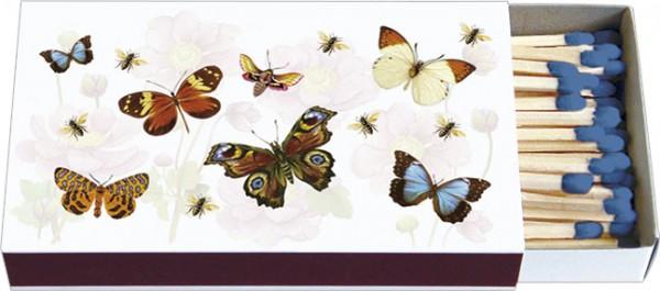 Zündholz-Schachteln 'Bunte Schmetterlinge'