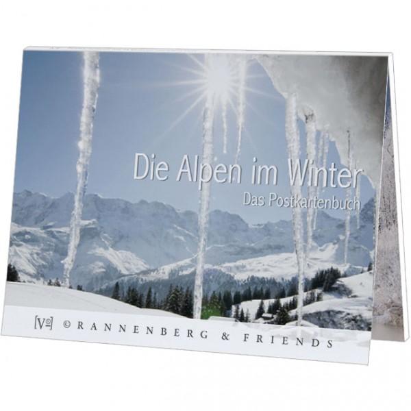 Postkartenbuch 'Die Alpen im Winter'