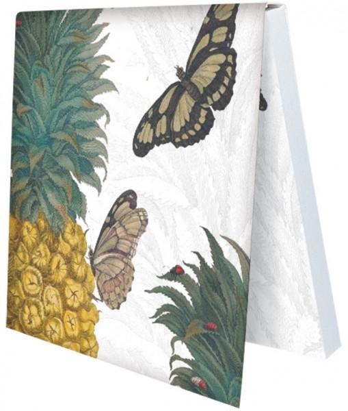 Klebezettel 'Maria Sibylla Merian - Merian Ananas'