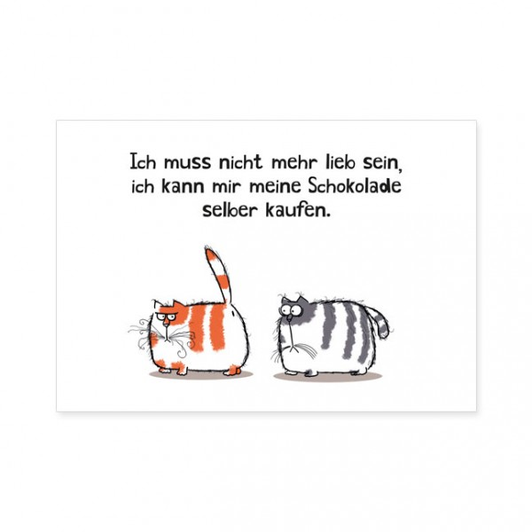 "Postkarten Large ""Catzz - Selber kaufen"""