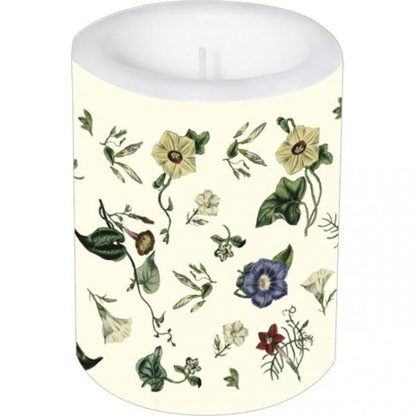 Lampionkerze groß 'The Ladies Flowergarden'