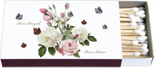Zündholz-Schachteln 'Rosa Bengale'