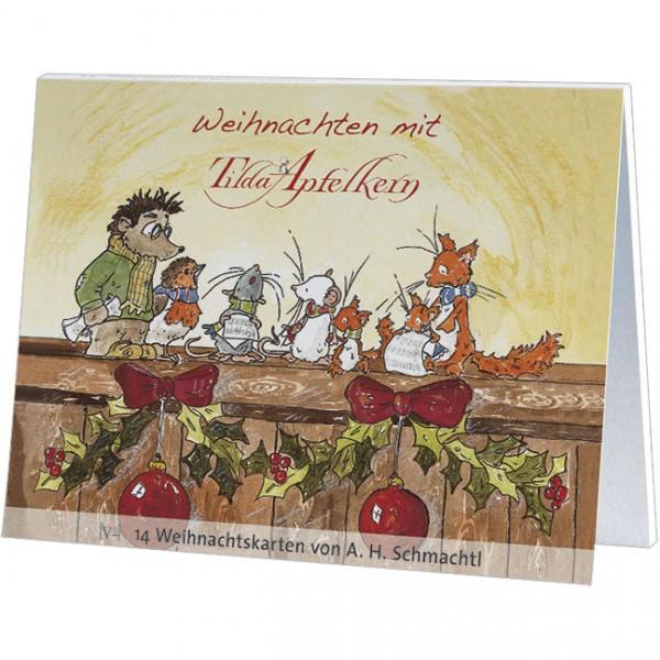 Postkartenbuch Weihnachten 'Weihnachten mit Tilda Apfelkern'