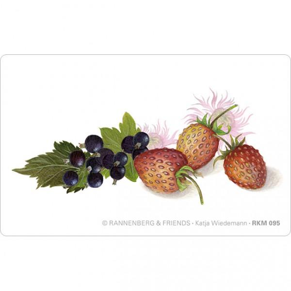 Magnete 'Erdbeeren und Johannisbeeren'