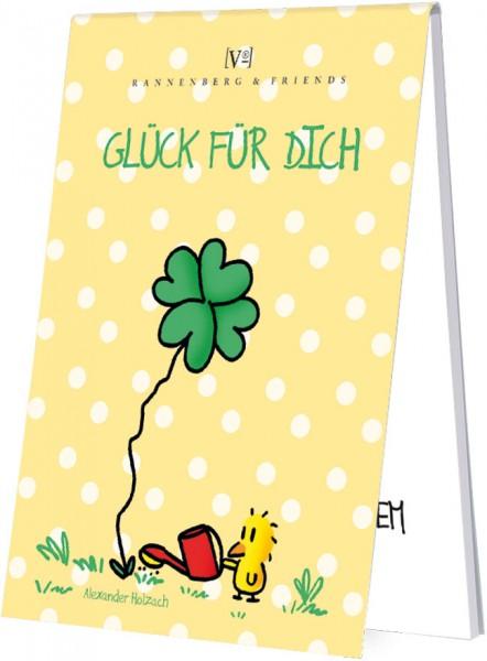 Spieleblöckchen 'Glückweisheiten' von Alexander Holzach