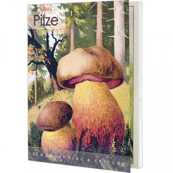 "Postkartenbuch ""Pilze"""