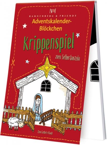 Adventskalenderblöckchen 'Krippenspiel' von Ann Cathrin Raab