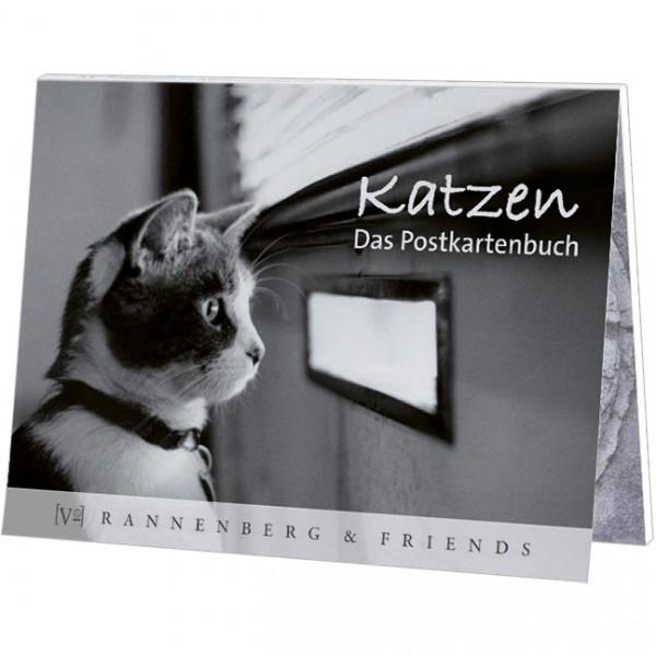 Poskartenbuch 'Katzen'