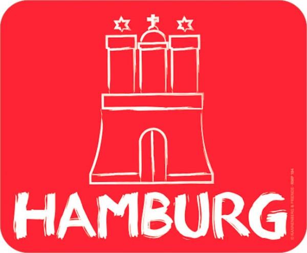 Maus-Pad 'Hamburg'