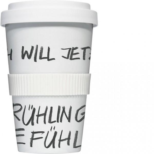 Coffee to go Becher 'Frühlingsgefühle'