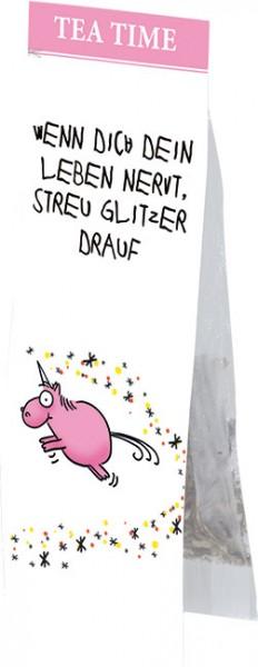 "Tea Time ""Streu Glitzer drauf"""