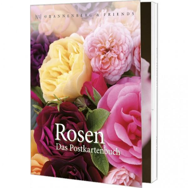 Postkartenbuch 'Rosen'