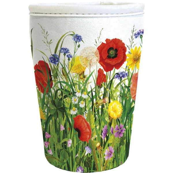 """Cup-Cover """"Mohnwiese"""""""