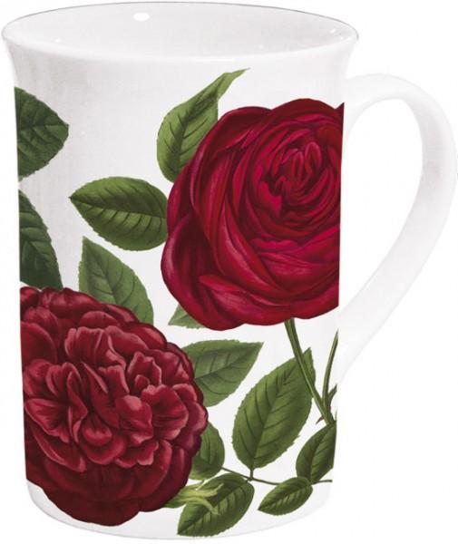 "Becher ""Rote Rosen"""