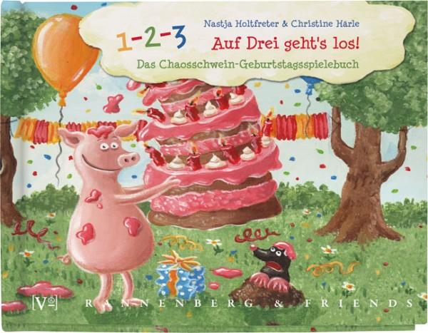 """Geschenkebuch """" Auf drei geht´s los"""""""
