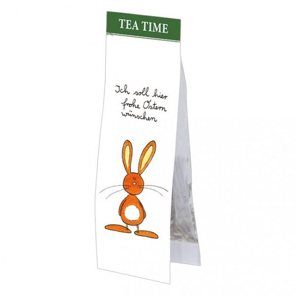 Tea Time 'Ich soll hier frohe Ostern wünschen'