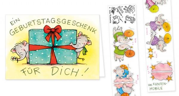 """Türchenkarte """"Geburtstagskarte für Dich!"""""""
