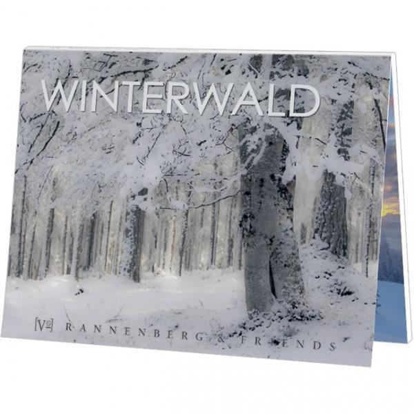 """Postkartenbuch """" Winterwald """""""