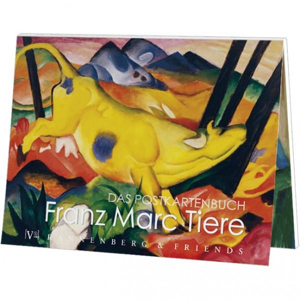 """Postkartenbuch """" Franz Marc - Tiere """""""
