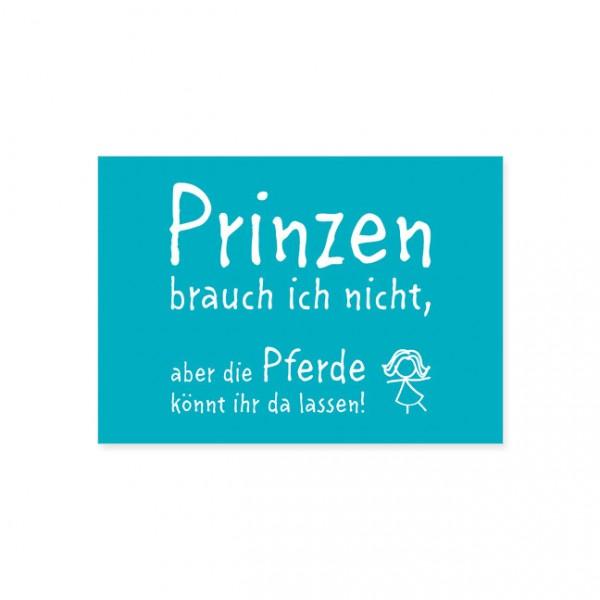 """Postkarte """"Prinzen"""""""