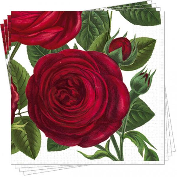 """Servietten """"Rote Rosen"""""""