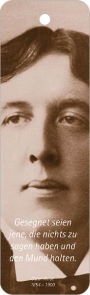 """Lesezeichen """"Oscar Wilde"""""""