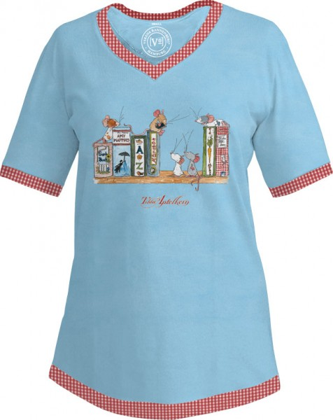 "T-shirt ""Tilda-Bücherregal"""