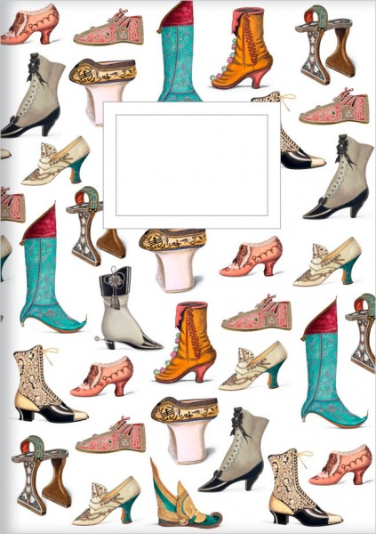 Kladden A5 'Historische Schuhe'