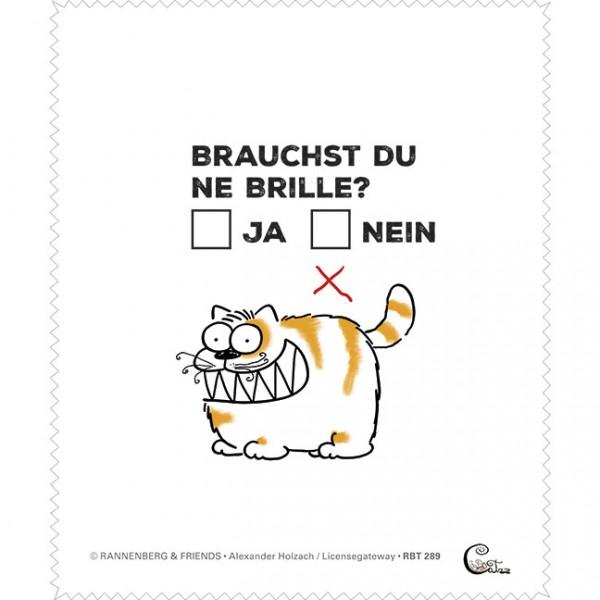"""Brillenputztuch """"Catzz - Entscheidung"""""""