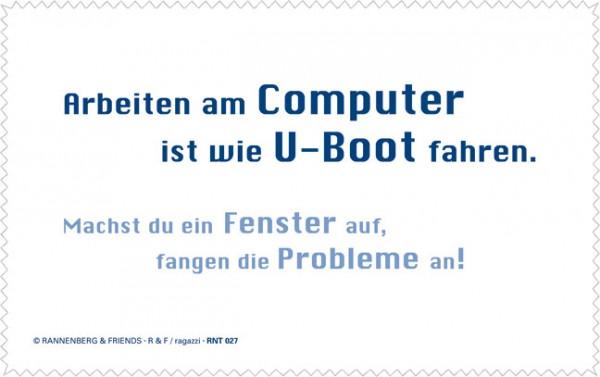 Netbooktuch 'Arbeiten am Computer'