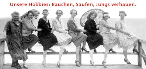 "XXL-Postkarte ""Unsere Hobbies"""
