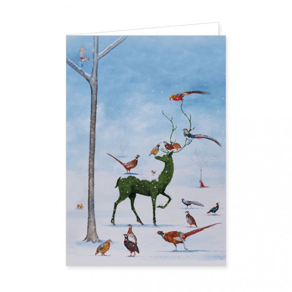 "Doppelkarten ""Winter Wunderland"""