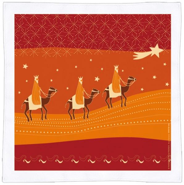 Spültuch Weihnachten 'Die drei Weisen aus dem Morgenland'
