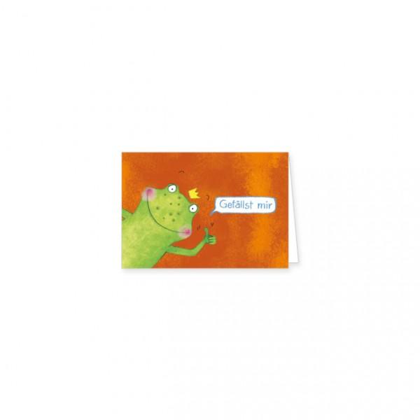 "Mini-Doppelkarte ""Gefällst mir"""