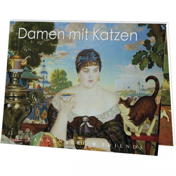 "Postkartenbuch ""Damen mit Katzen"""