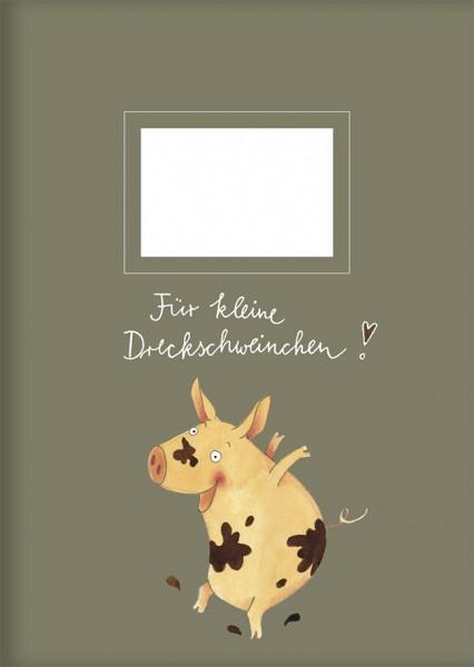 "kl. Kladden A6 ""Dreckschweinchen"""