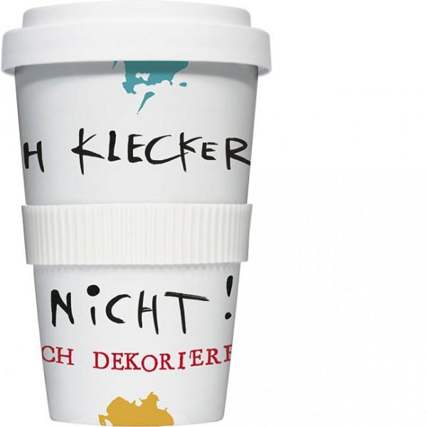 """Coffee to go """"Ich klecker nicht"""""""