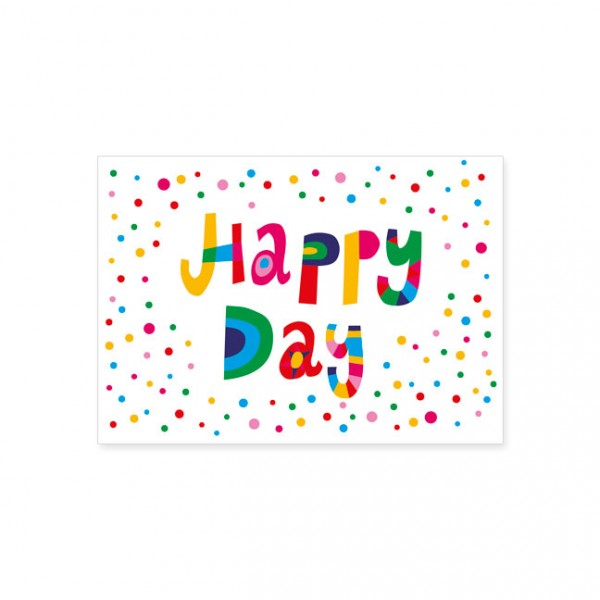 "Postkarte ""Happy Day"""