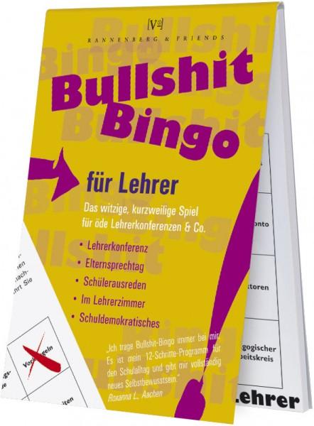 Spieleblöckchen 'Bullshit-Bingo Lehrer'
