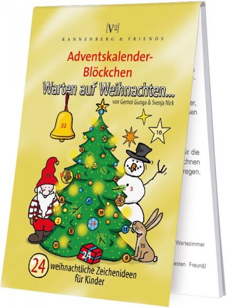 Adventskalenderblöckchen 'Warten auf Weihnachten' von Svenja Nick und Gernot Gunga -RSBW 029