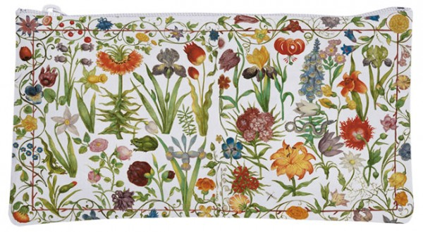 Etuitasche 'Gartenblumen'