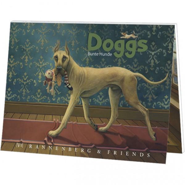 """Postkartenbuch """"Doggs-Bunte Hunde"""""""