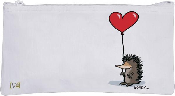 Etuitasche 'Igel mit Herz'