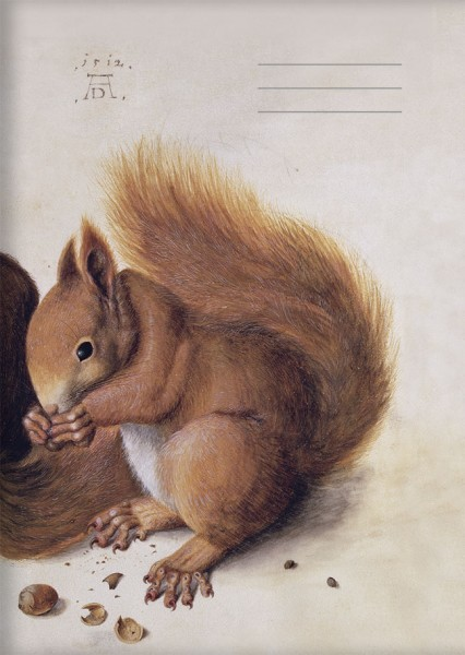 Kladden A6 'Eichhörnchen' von Albrecht Dürer